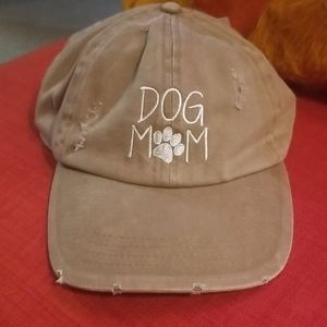 David and Young Dog Mom ball cap